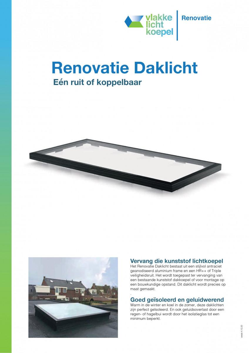 Renovatie Daklicht
